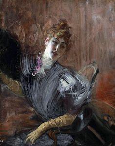 Эта дама из прошлого века...   Giovanni Boldini (новинки в коллекцию!). Обсуждение на LiveInternet - Российский Сервис Онлайн-Дневников