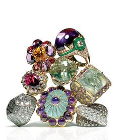tony duquette jewelry ad - Google Search