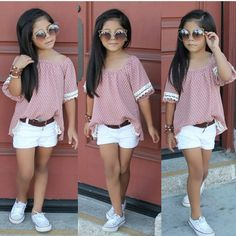 Boys Clothes Online - January 08 2019 at Little Girl Outfits, Kids Outfits Girls, Cute Girl Outfits, Cute Outfits For Kids, Little Girl Fashion, Toddler Outfits, Cute Kids Fashion, Tween Fashion, Toddler Fashion