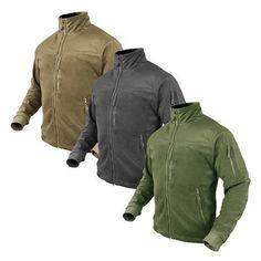 Condor Outdoor Tactical Military & Hunting ALPHA Micro Fleece Jacket Size S-XXXL
