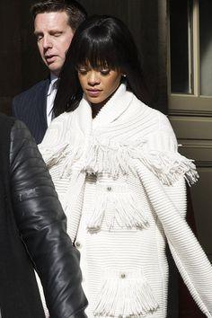 "Rihanna at ""Chanel"" Fashion Show in Paris."