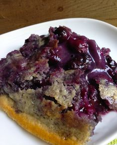 Brian's Blueberry Cobbler Recipe...probably gonna whip this up tonight :) yummmm