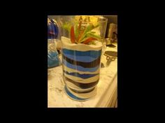 Layered Sand Succulent Planter Quick Guide How To. - YouTube