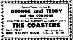 Red Velvet Club, 6507 Sunset Blvd., Hollywood, CA