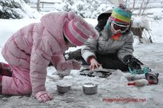 Go Outside and Play in Your Snow Kitchen fun winter Go Outside and Play in Your Snow Kitchen Winter Outdoor Activities, Fun Outdoor Games, Fun Activities, Toddler Activities, Winter Fun, Winter Theme, Winter Snow, Winter Ideas, Outdoor Education
