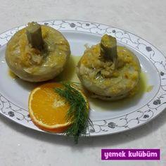 Portakallı Enginar Tarifi nasıl yapılır? Resimli Portakallı Enginar Tarifi anlatımı için tıklayın. Sağlıklı vejetaryen ve diyet yemek tarifleri burada.