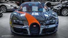 Photo gallery with 10 high resolution photos. Check out the Black Chrome Bugatti Veyron Super Sport images at GTspirit.