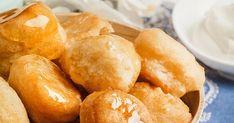 Greek Sweets, Greek Recipes, Pretzel Bites, Bread, Snacks, Vegetables, Desserts, Food, Link