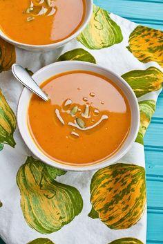 Winter Squash & Apple Soup