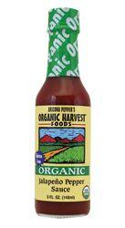 Arizona Pepper Products Organic Jalapeno Pepper Sauce 5 fl oz Liquid - Swanson Health Products