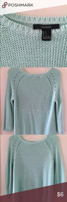 Forever 21 Sweater Brand new condition. Very warm and cozy. Forever 21 Sweaters Crew & Scoop Necks