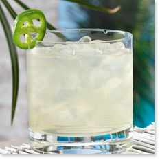 THE BIG KICKER    2 parts vodka  ½ part St-Germain®  1 part sour mix  2 slices of jalapeño  1 part soda water    Muddle 1 slice of jalapeño in the sour mix, add vodka and St-Germain® liqueur. Add ice and mix. Pour into glass, garnish with a jalapeño slice.