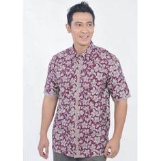 Dunia Fashion - Baju Batik Pria 2064.YUUUUK diorder bajunya mumpung ada discont