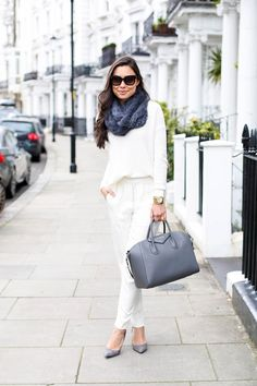 Winter white in Notting Hill