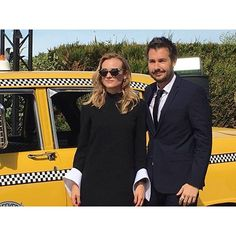 #DianeKruger et notre compère #StephaneCharbit, le chic made in #Deauville2016 @OCSTV #CineSeriesCie #cinema #instagram Photo par Sophie Soulignac