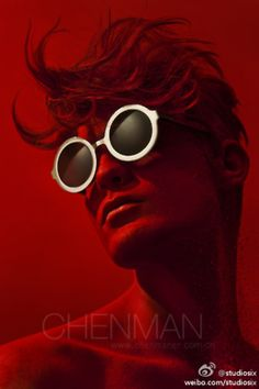 Chen Man photography for Coterie Man Photography, Artistic Photography, Fashion Photography, True Red, Pin Image, Shades Of Red, Red And Pink, Lady In Red, Vintage Posters