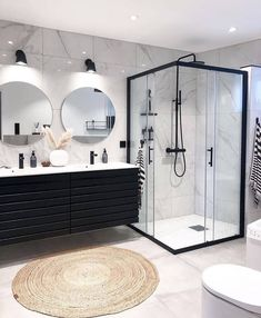 Home Sweet Home: These are the biggest home decor trends of .- Home Sweet Home: Dies sind die größten Wohnkultur-Trends des Jahres – … Home Sweet Home: These are the biggest home decor trends of – Bathroom furnishings – - Dream Home Design, Home Interior Design, Interior Modern, Interior Ideas, Mansion Interior, Design Interiors, Bathroom Design Luxury, Bathroom Designs, Shower Designs