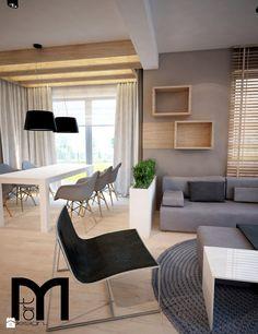 Salon styl Nowoczesny - zdjęcie od Mart-Design Architektura Wnętrz - Salon - Styl Nowoczesny - Mart-Design Architektura Wnętrz