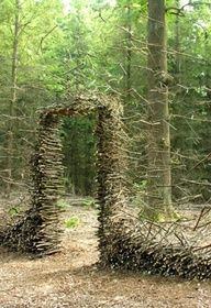 Andy Goldsworthy: environmental art. Another Threshold.