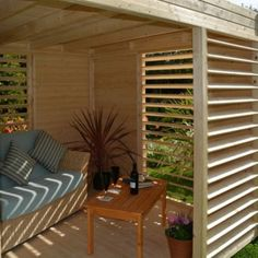 Create a gorgeous outdoor space with a garden structure #Outdoors #Summer