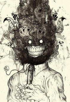 « Mind Blowing », une illustration de Iain MacArthur   du9, l'autre bande dessinée