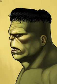 Mike Mitchell x Marvel x Mondo - Hulk