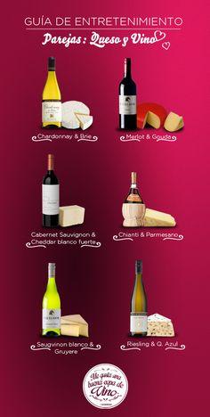 Quesos y vinos! Maridajes deliciosos para todos!