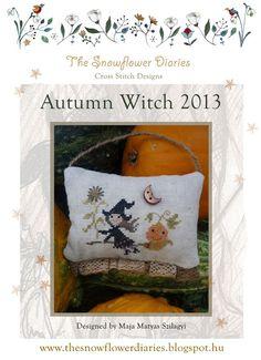 The Snowflower Diaries: Autumn Witch 2013 *freebie*