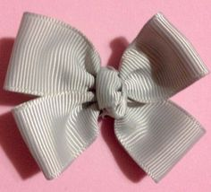 Gray ( 2 Inches) Baby Magic Hairbows Non Slip Clips