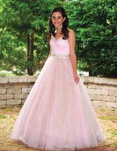 Custom Bat Mitzvah dress from It's Simply For You.