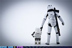 Stormtrooper father and son. Stormtroopers are people too.if you count clones as people. Star Wars Love, Star War 3, Fathers Love, Father And Son, Happy Fathers Day, Stormtroopers, Amour Star Wars, Image Blog, Love Stars