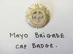 Irish Medals and Badges – The Irish War The Wild Geese, Easter Rising, Irish Roots, Lineage, Military Uniforms, Badges, Ireland, Photographs, Place Card Holders