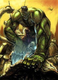 #Hulk #Fan #Art. (Hulk teach you how to fly) By: Jel. (THE * 3 * STÅR * ÅWARD OF: AW YEAH, IT'S MAJOR ÅWESOMENESS!!!™) [THANK U 4 PINNING!!!<·><]<©>ÅÅÅ+(OB4E)