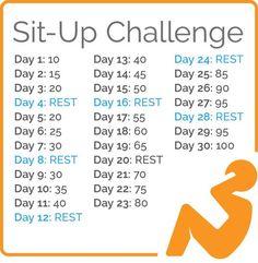 Slim & Sassy Sit-Up Challenge