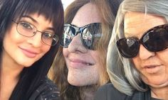 Old lady gang! Khloe, Kylie and Kendall get fake wrinkles for prank