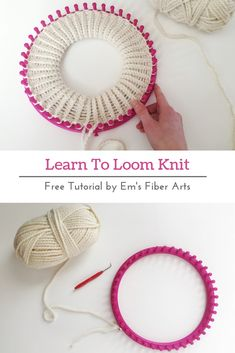 Learn To Loom Knit: Double Brim Beanie Tutorial