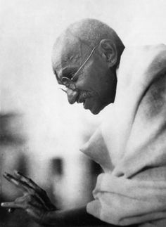 """I object to violence because when it appears to do good, the good is only temporary; the evil it does is permanent."" -- Gandhi"