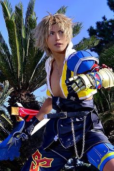 Amazing Tidus cosplay