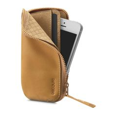 Leather Zip Wallet for iPhone 5 by Incase