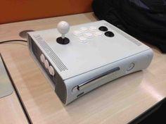 Arcade Stick #Xbox 360 via reddit user NotMyTwitter