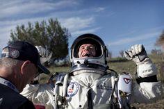 El salto de #FelixBaumgartner ha hecho historia.