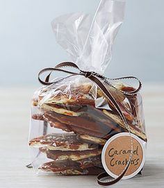 Salted-Caramel Cracker Candy