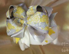 Cranial Band Gracie bow burlap bow Plagiocephaly