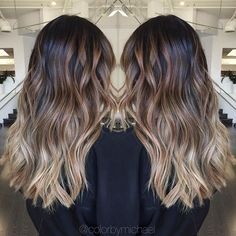 Balayage ombre on level 1 asian hair...