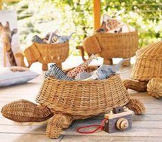 turtle basket..I WANT ONE
