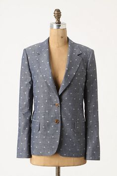 nightscape blazer - would be so cute with black skinny jeans!