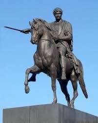 Bertel Thorvaldsen  - Poniatowski monument in Warsaw.