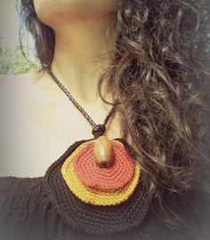 Necklace -  COLAR Crochet
