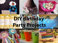 12 DIY Projects for Your Next Birthday Party