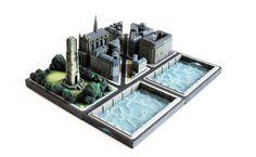 Ittyblox cria série de miniaturas de edifícios parisienses